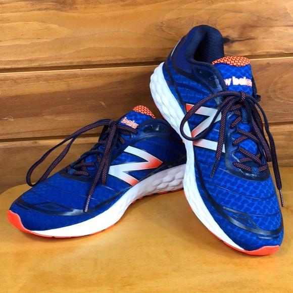 New Balance Other - New Balance 🔶 Men's Blue & Orange Sneakers 12